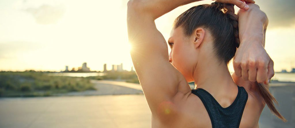 Looking after your upper body while working out