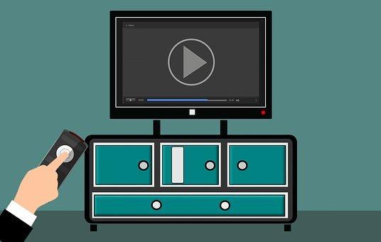 Television, Remote, Live, Stream, Hand